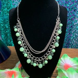 NWOT Beautiful Multi Layer Bead Necklace
